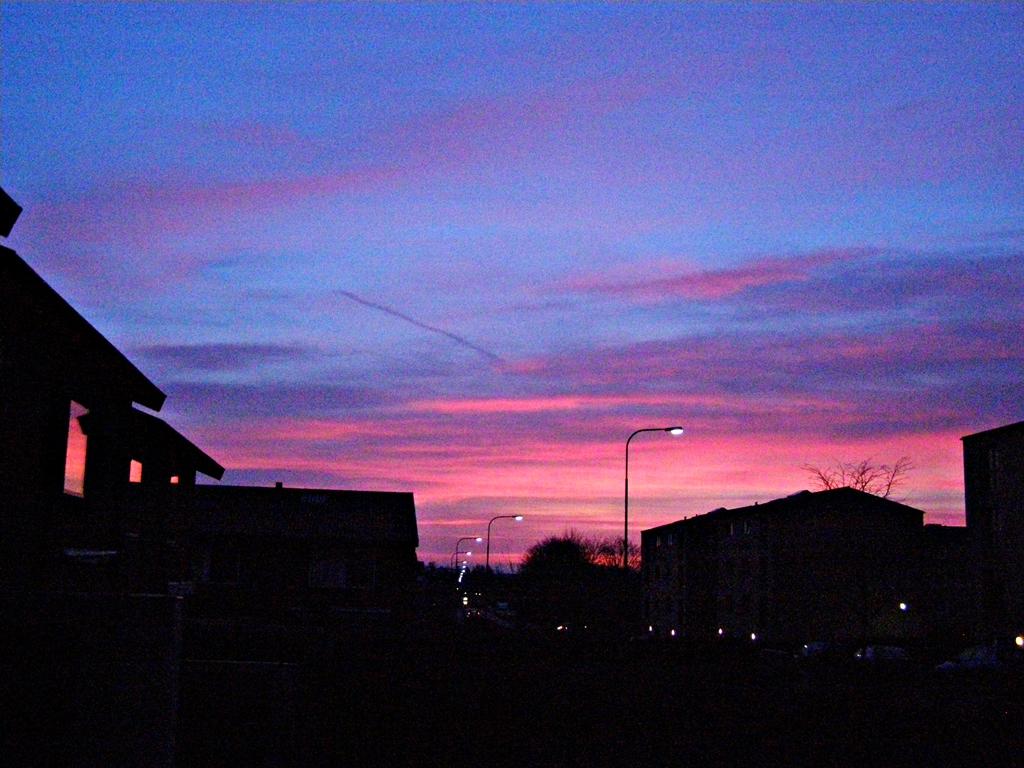 Sunrise. 24.02.14