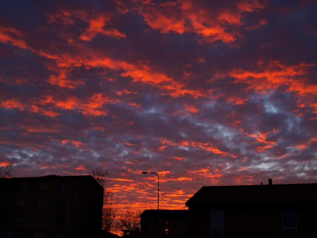 Todays sunset. 26.02.14