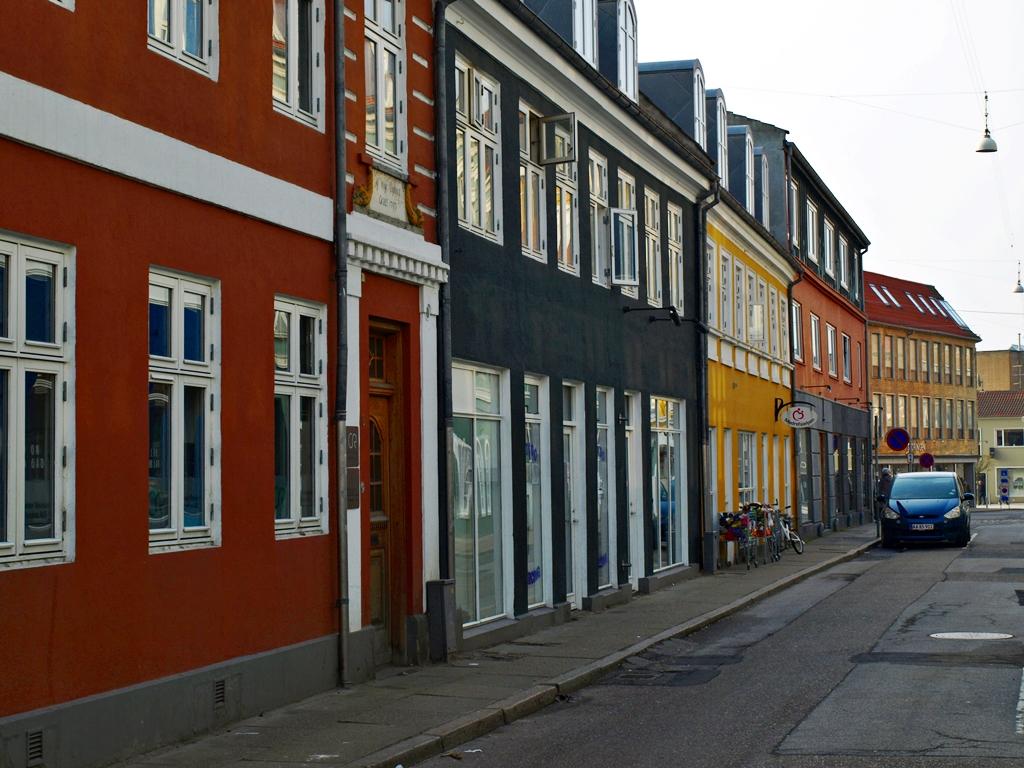 Østergade in Randers. 03.03.14