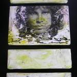 Jim Morrison på træplader
